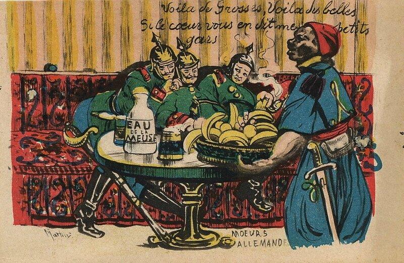 caricature anti-allemande