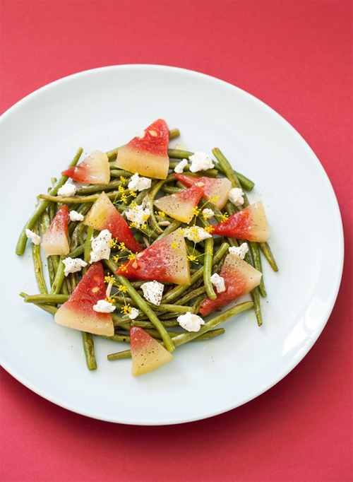 Salade pastèque