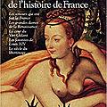 Les histoires d'amour de l'histoire de france, de guy breton
