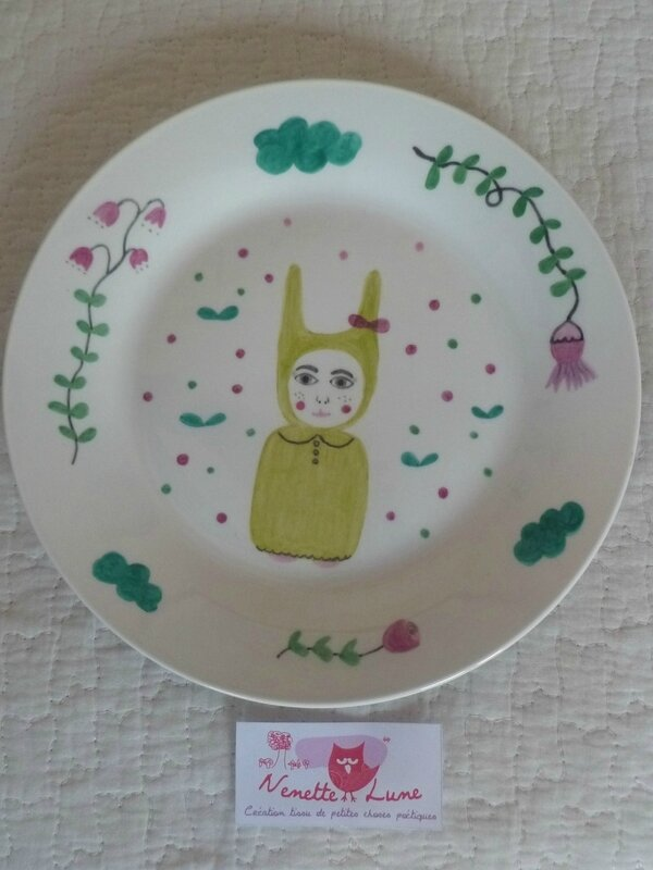 assiette little nenette