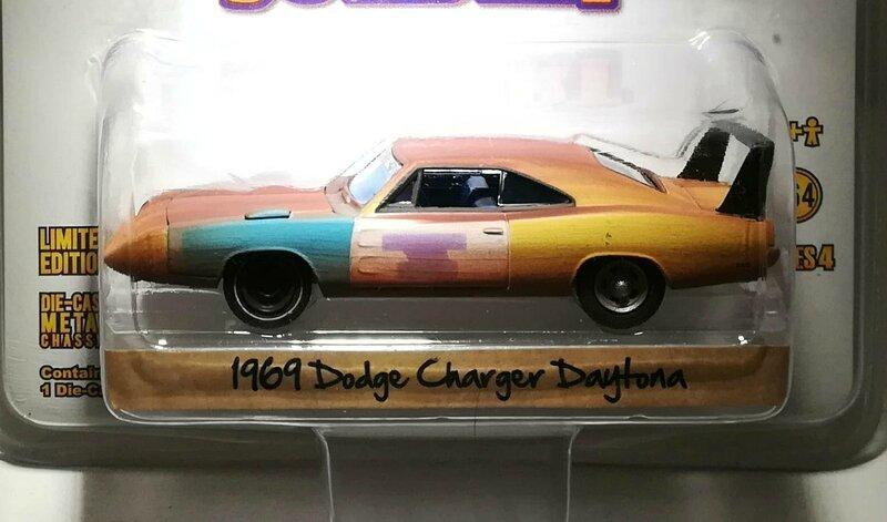 Dodge Charger Daytona de 1969 (Joe Dirt) Greenlight 01
