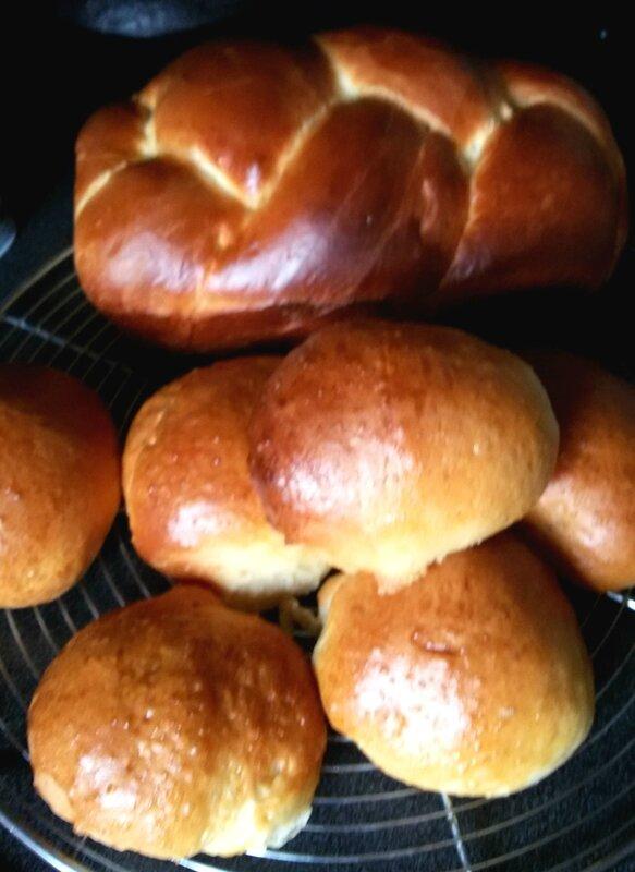 Celinelafait Brioche et pains au lait
