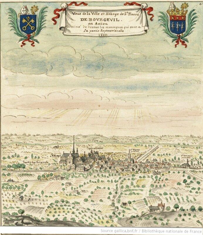 abbaye Saint Pierre de Bourgeuil Emma d'Aquitaine