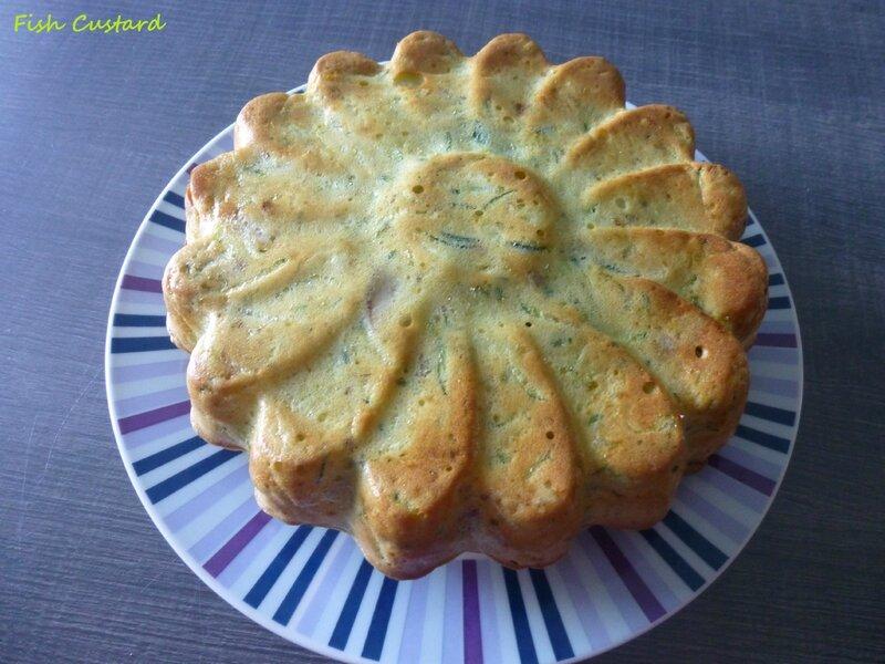 Gâteau aux courgettes et poulet (3)