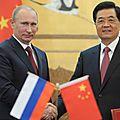 La russie et la chine ont déclaré une guerre financière totale à l'occident