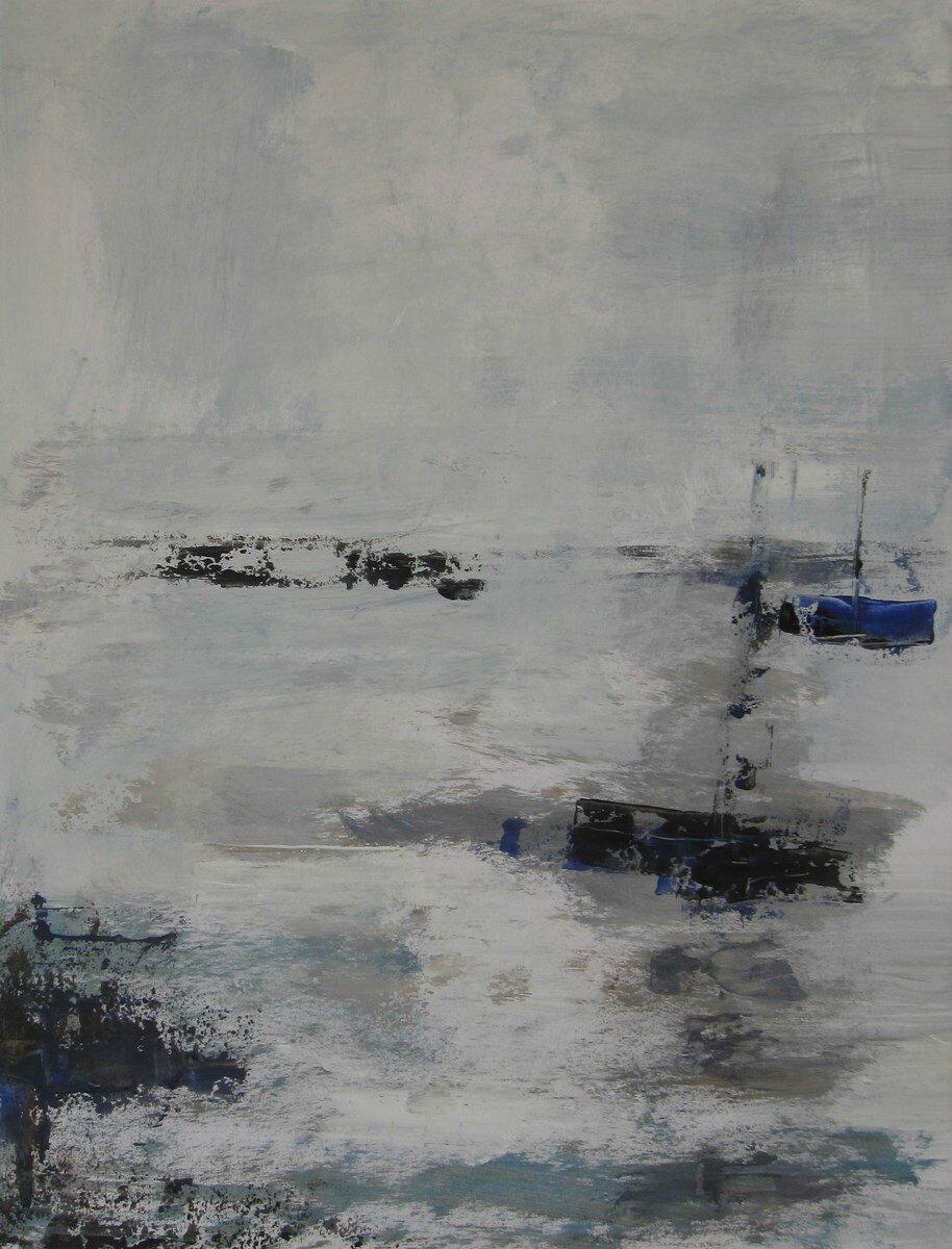 01 - Acrylique sur papier marouflé sur toile - 50 x 65 cm