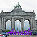 Triumphal Arch Of Brussels