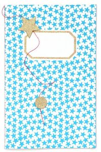 notebook small pocket turquoise 1