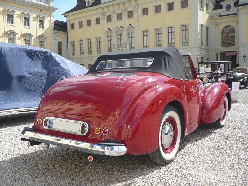 TRIUMPH 1800 Roadster 1947 Ludwigsburg (2)