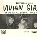 Vivian girls - mercredi 28 juillet 2010 - moby dick club (madrid)