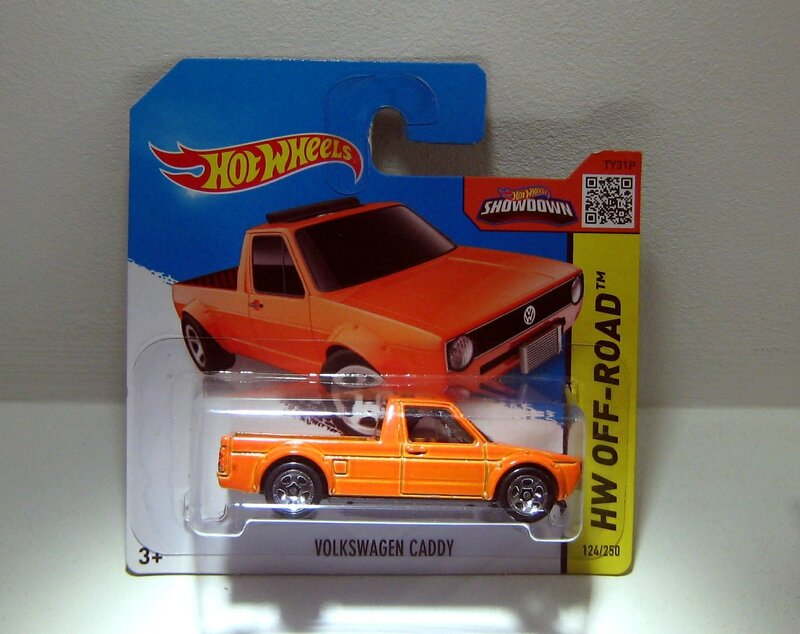 Vw caddy (Hotwheels) 01