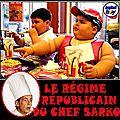 Le régime frites du chef sarko