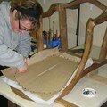 Une beaute pour un fauteuil louis-philippe...