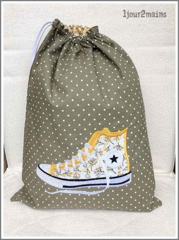 sac basket fleurs