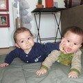 Ilian et Luca, avril 2007