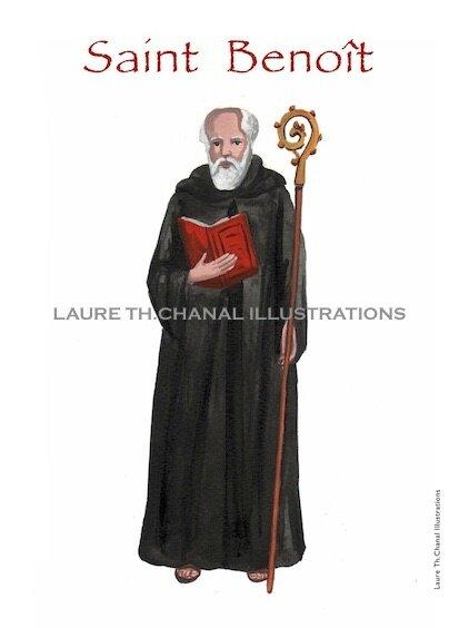 st Benoit de Nursie