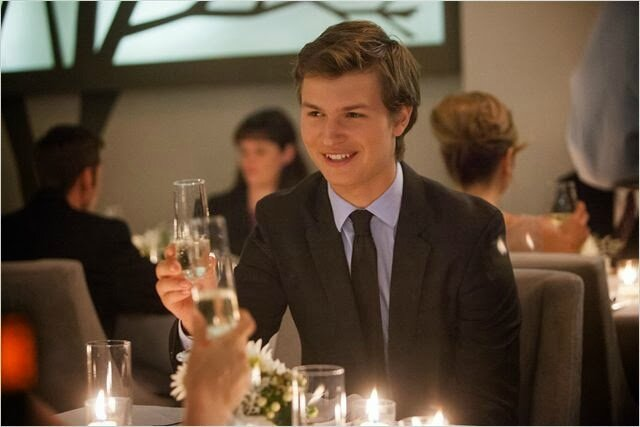 Ansel Elgort The Fault in Our Star movie