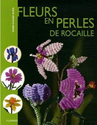 Fleurs en perles de rocaille
