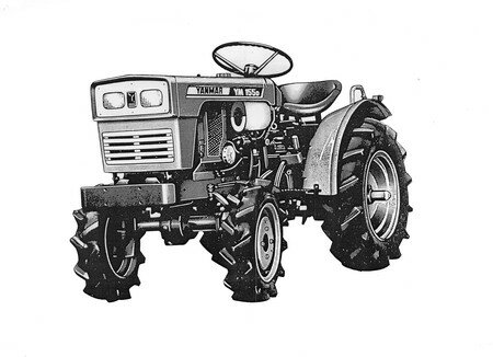 Yanmar 155D Welcome Tracteur Yanmar