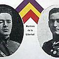 martyrs de la liberté