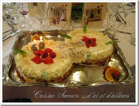 gâteau mariés