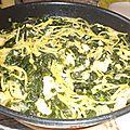 One pot pasta épinards et saumon