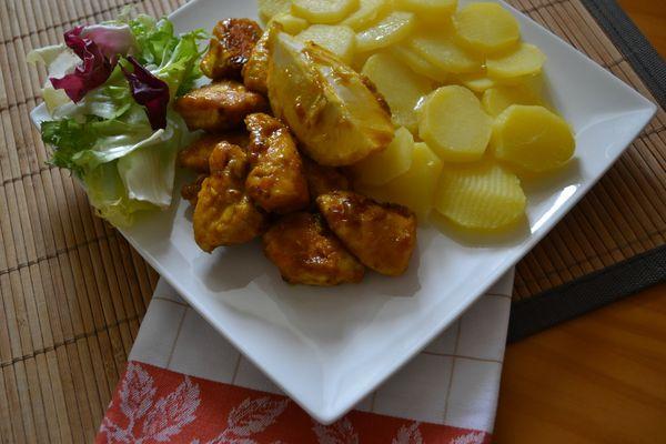 Poulet au citron (4)