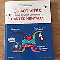 Nous avons découvert 30 activités pour devenir un as des cartes mentales (editions eyrolles)