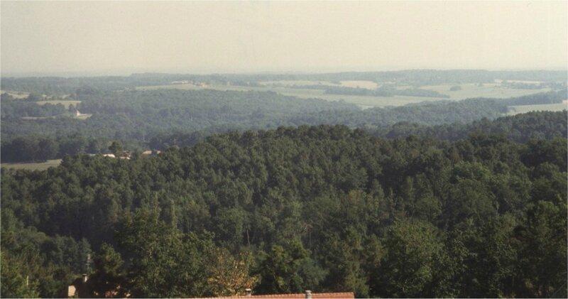 le vallon du Foncrose vu depuis Fosse Rouge