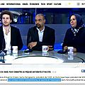 Sacha reingewirtz (uejf) et dominique sopo (sos racisme) en lutte contre «l'islamisation» selon i24news