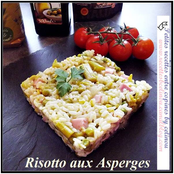 Risotto aux Asperges. (Vital Food N°2).