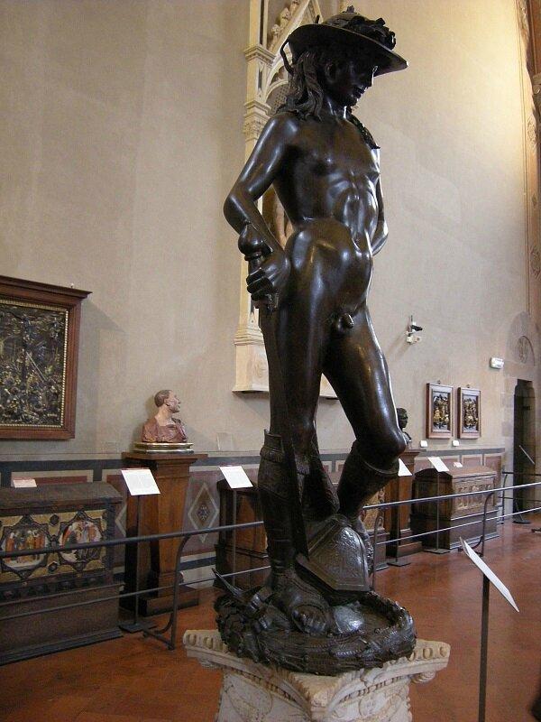 Donatello David bronze Florence Bargello
