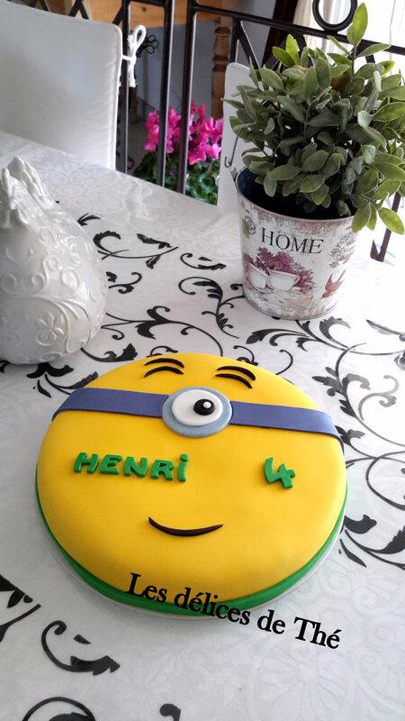 Gâteau Minion 24 10 17 (11)