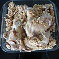 Cuisse de poulet / riz cookeo