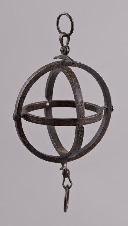 Portable Armillary Sundial