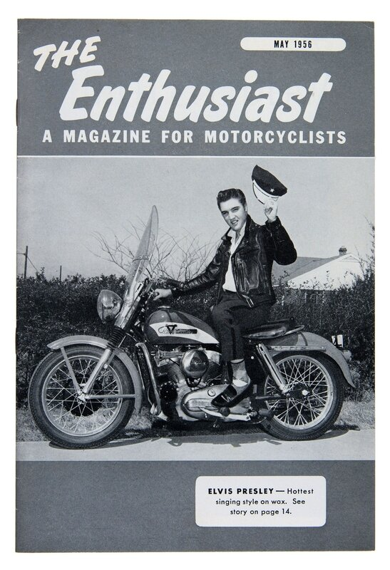 The Enthusiast May 1956 Elvis Presley KH