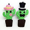 Monsieur et madame cactus