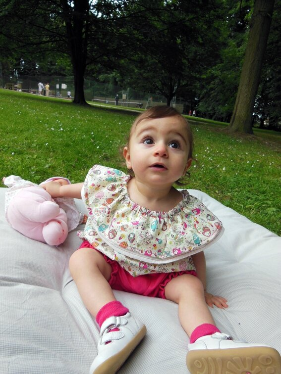 Tenue cookie et cupcake Lou&me12M 1-19