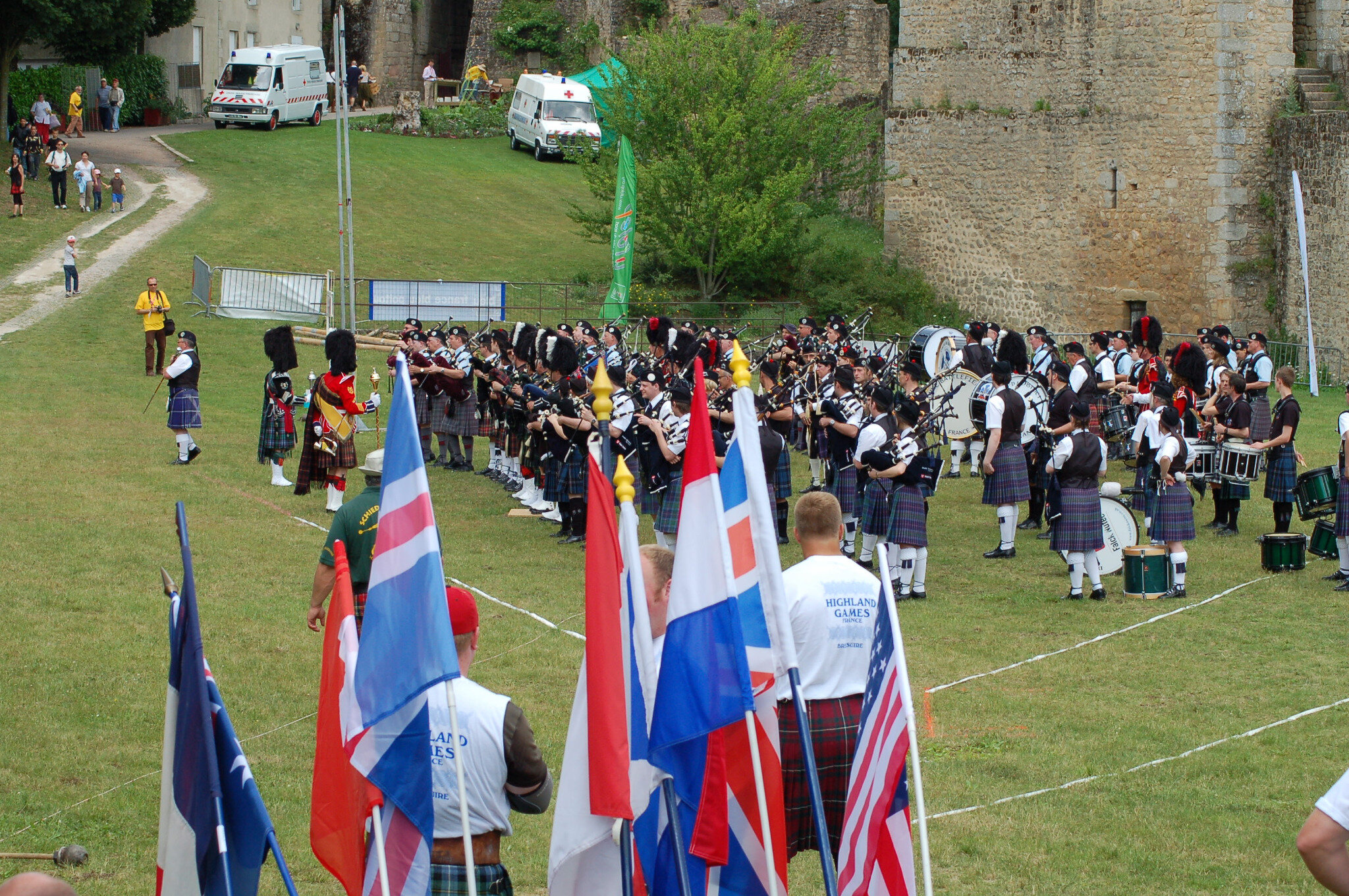 The line-up for the IHGF amateur Worlds in Bressuire, France