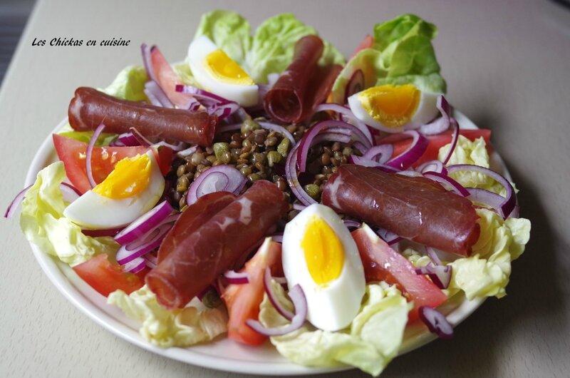 Salade de lenyilles vertes (1)