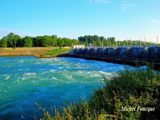 4) barrage jonage