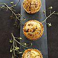 Muffins au canard confit