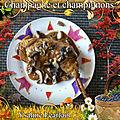 Champagne et champignons