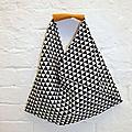 9 novembre : couture - sac triangle