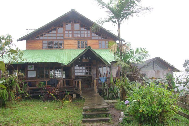 Le lodge de Santa Lucia, à 1900m d'altitude