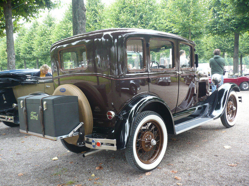 FORD Model A 4door Town Sedan 1929 Schwetzingen (2)
