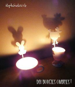 faire des bougies soi-m-eme, idée déco pour paques