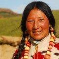 Femme tibetaine