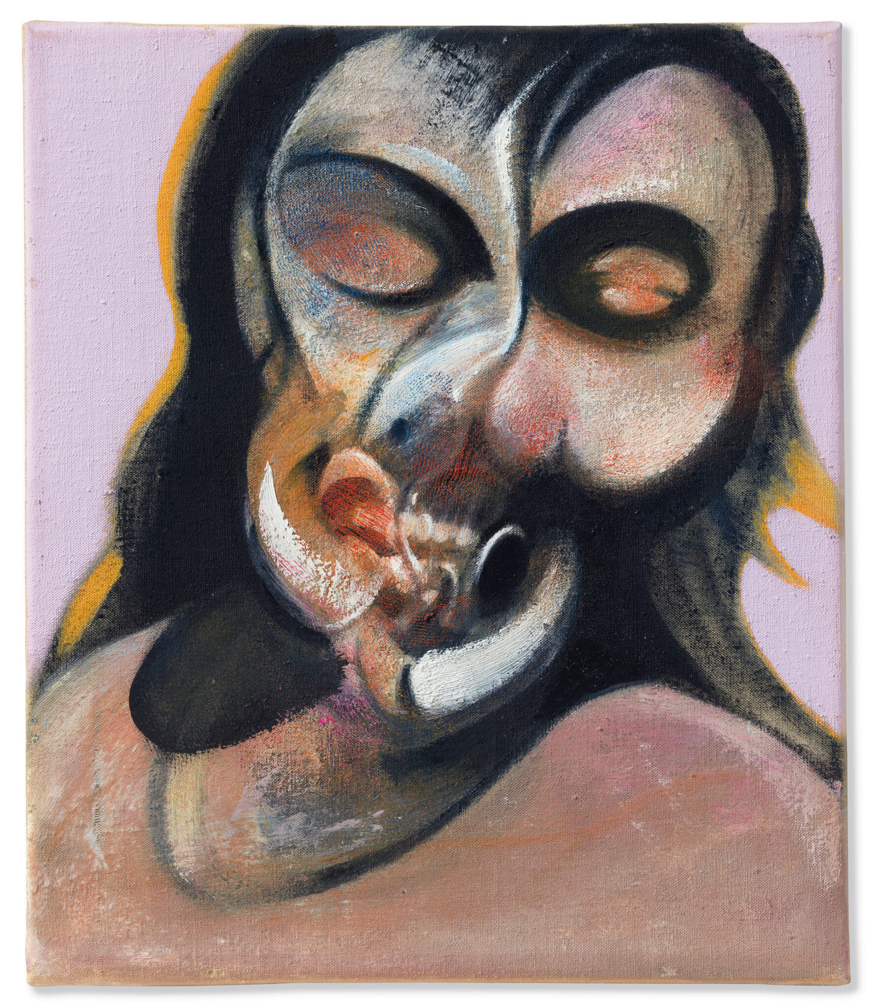 Francis Bacon 1909 1992 Study Of Henrietta Moraes Laughing 1969