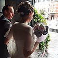 bouquet mariage original tissu blanc rose gris argent Anne Sophie (3)